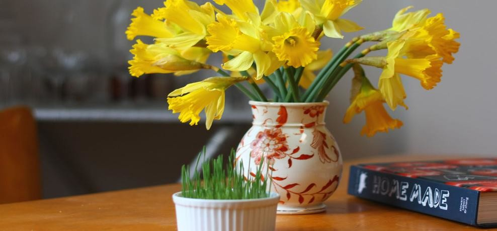 never keep withered flowers in home according to feng shui