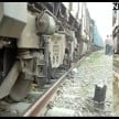 train and a car accident in amethi.