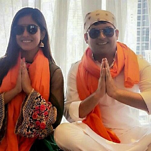 firangi kapil sharma visits guru nanak darbar in dubai for the success of his film