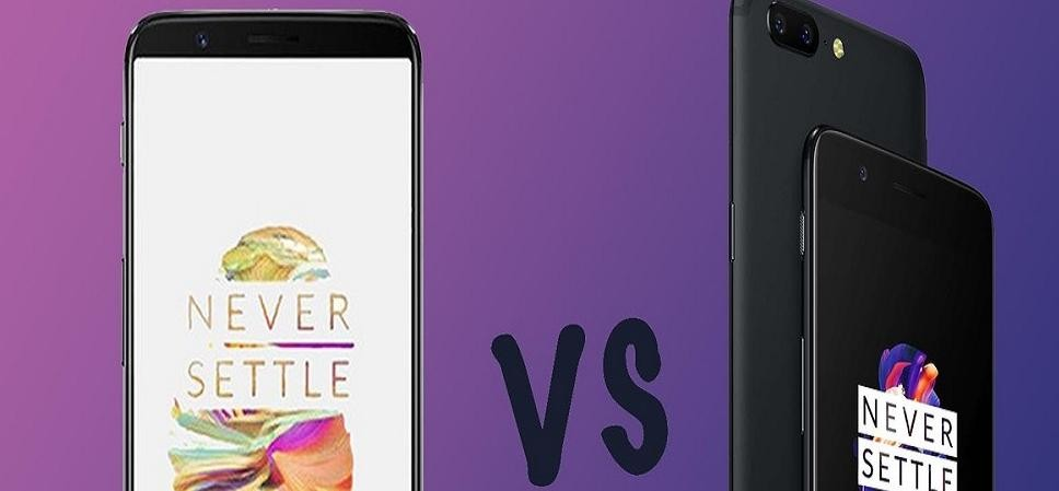 OnePlus 5T vs OnePlus 5: All New and Different features