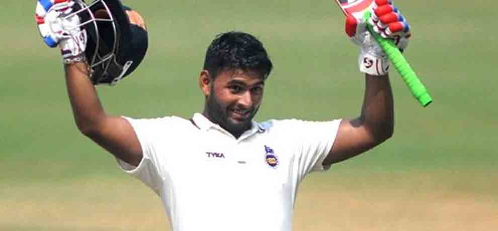 rishabh pant played strong innings against maharashtra in ranji trophy