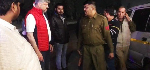 Panipat police suspended both constable alleged drunked