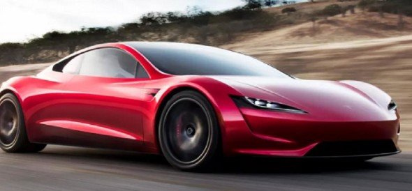 Tesla unveiled a new roadster would be the fastest production car ever