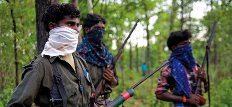 two jawans are injured in naxals blast
