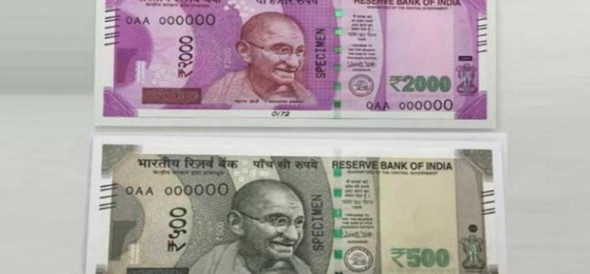 six out of ten security features of 500 2000 note copied by Fake Indian currency manufacturers