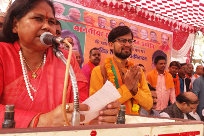 congrees is responsible for farmers problem- niranjan jyoti