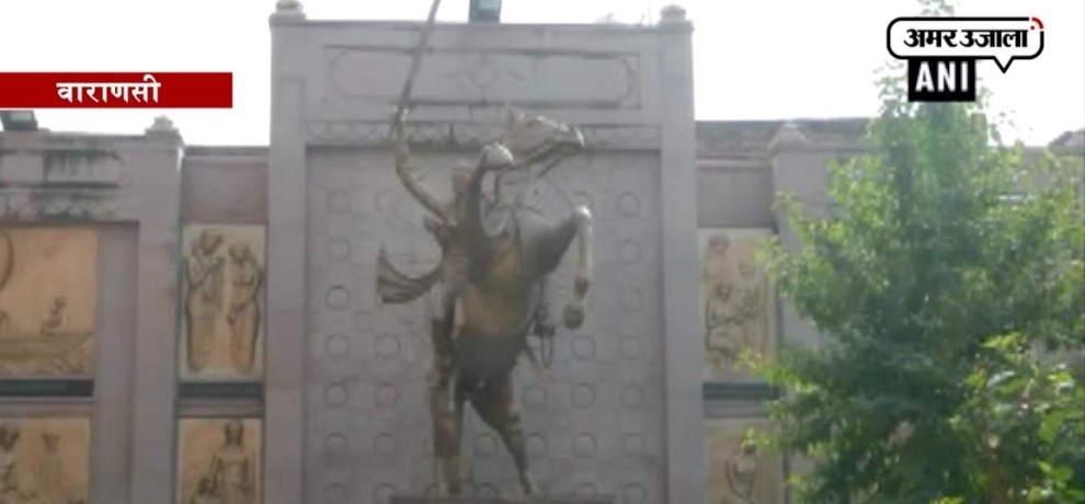 Ahead of Rani Laxmi Bai's birth anniversary, birth memorial lies in shambles