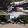 PLANE CRASHES ON HIGHWAY FLORIDA PINELLAS COUNTY AMERICA