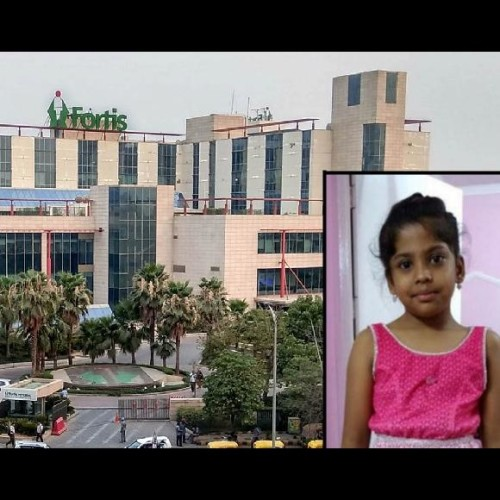 in fortis hospital case adya's father will file fir against the hospital