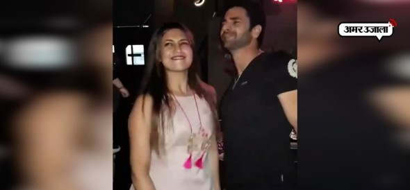HOT DANCE OF DIVYANKA AND VIVEK