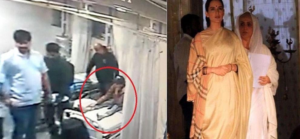 'मणिकर्णिका: द क्वीन ऑफ झांसी' के सेट पर घायल हुईं कंगना, लौटना पड़ा मुंबई