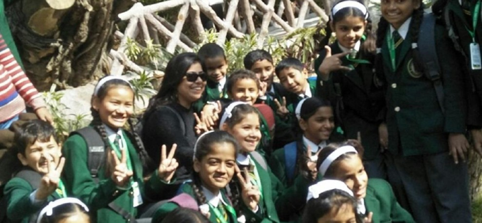 students of The Doon Global school celebrated picnic on Childrens Day