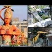 encroachment removed from the hanuman statue