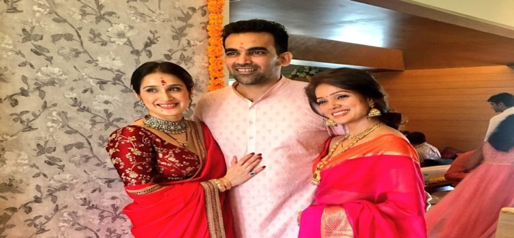 This is how Vidya Malavade wishes zaheer khan and sagrika after Wedding
