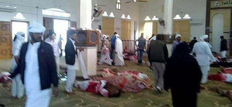 egypt mosque attack know how people face that horrible moment and why ISIS is questions