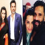 sunil shetty with his wife