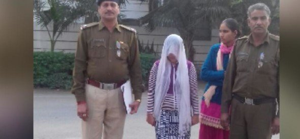 woman arrested for trapping a man in fake rape case