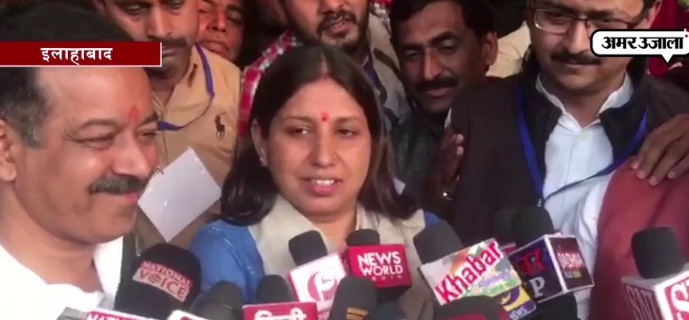 Abhilasha Gupta becomes mayor of Allahabad