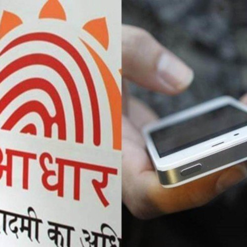 In aadhaar know about mobile number and email id online