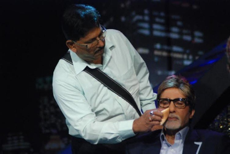 Image result for amitabh makeup man