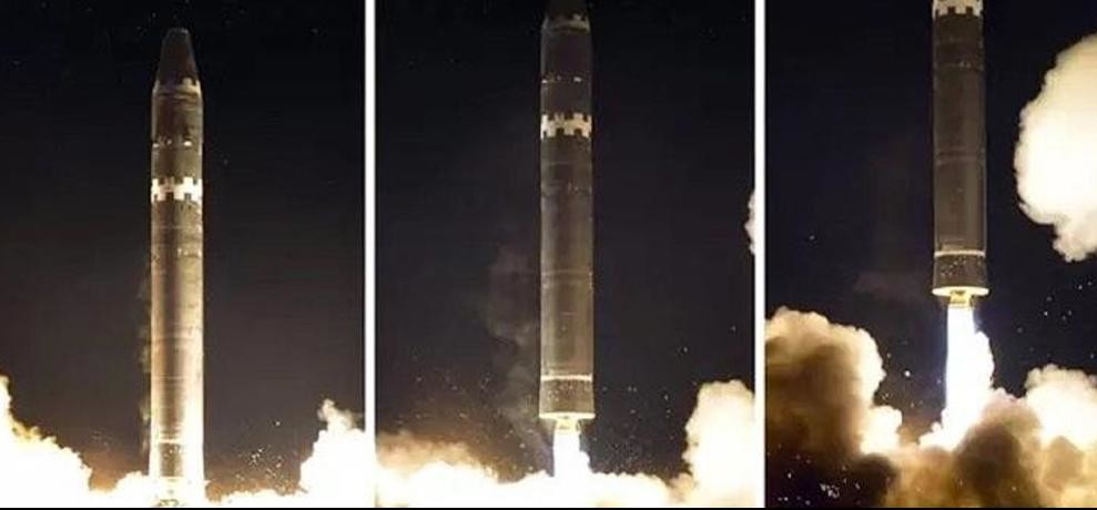 north koreas new missile Hwasong 15 is capable to striking the whole mainland of the US