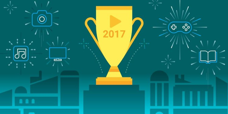 Google Announced Top Movie, Game and Music list of 2017 on Playstore