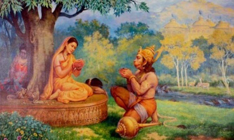 Why did not lord hanuman imprisoned mother sita to free