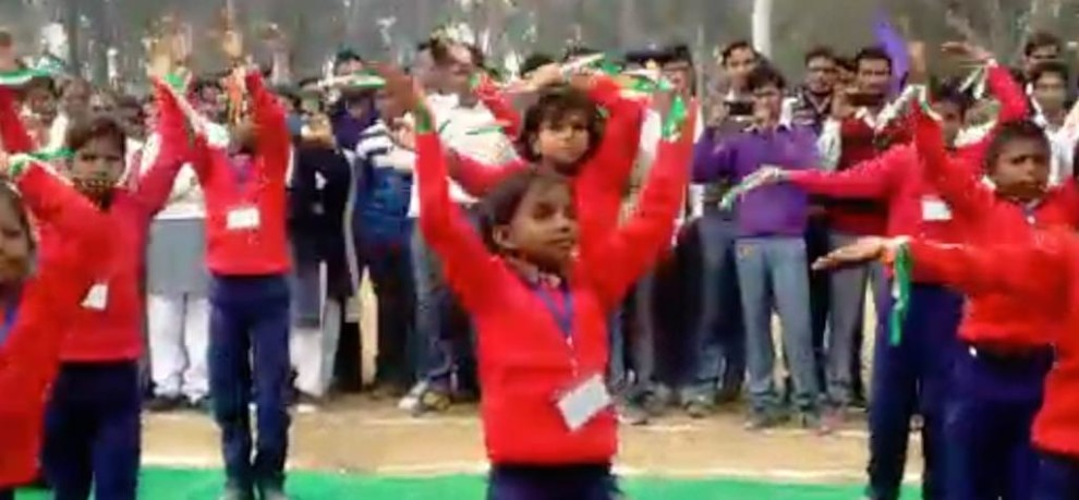 DANCE OF SONBHADRA SCHOOL STUDENTS BEING PRAISED BY EVERY ONE