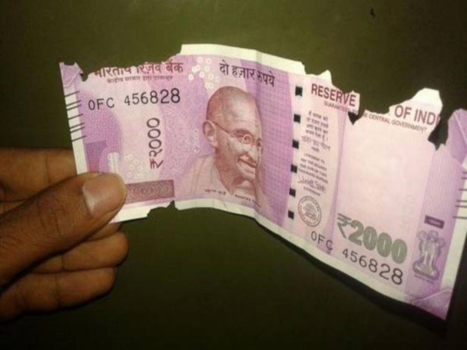 damaged indian currency exchange rbi rules
