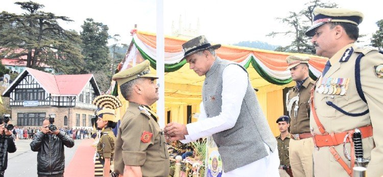 himachal celebrated the first foundation day