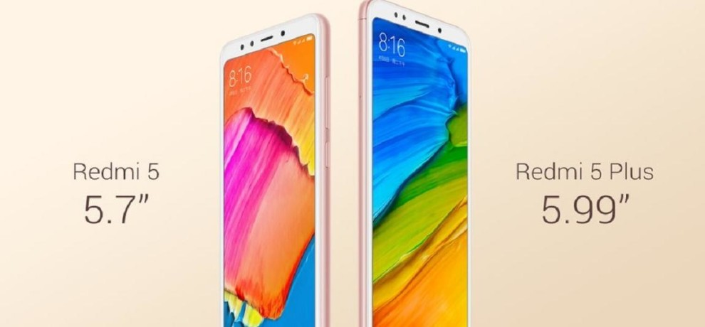 Xiaomi launched Redmi 5 and Redmi 5 Plus, Know price and specs