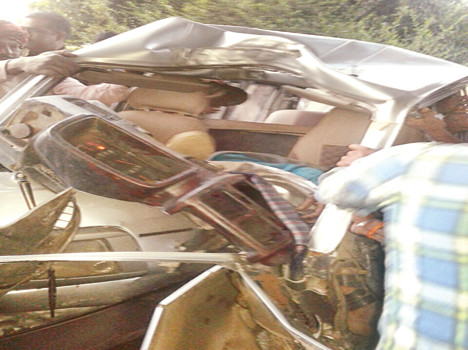 in road accident car owner dead