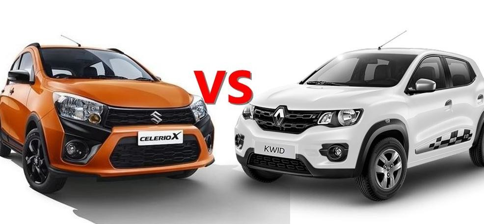 Maruti Suzuki Celerio X vs Renault Kwid: Price, Specification and Features