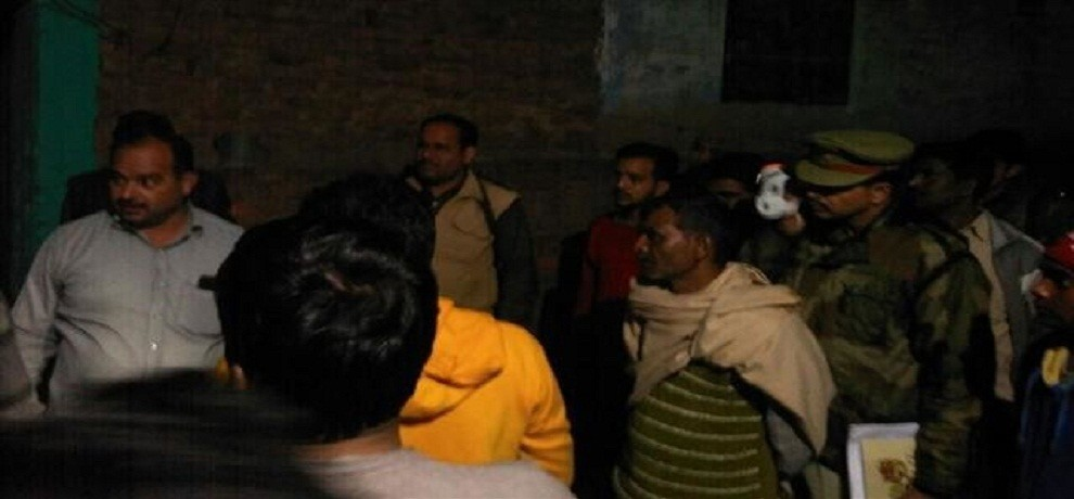 attempt to burning alive imam of Jama Masjid in Aligarh