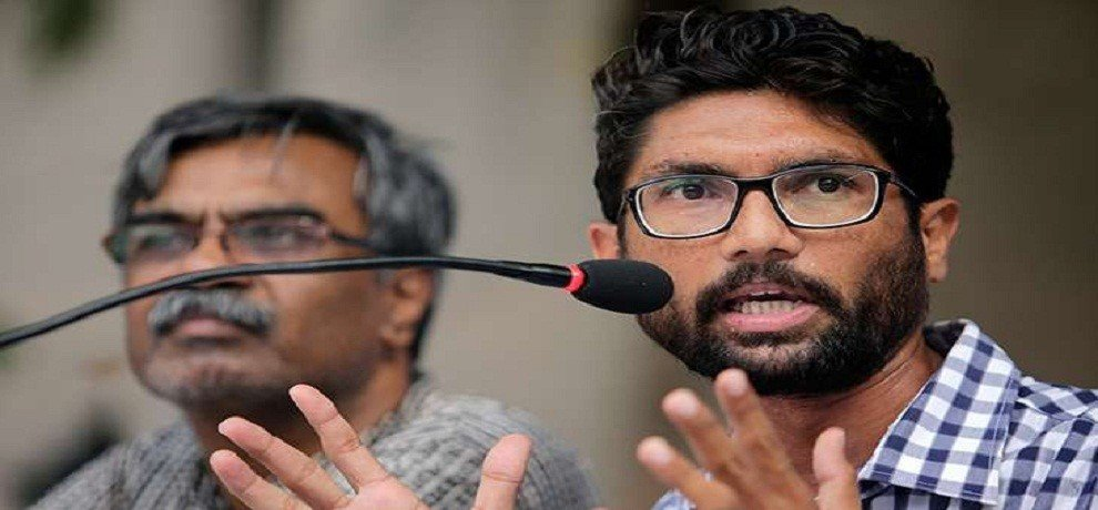 Gujarat election 2017 Jignesh Mevani came una only for political benefits