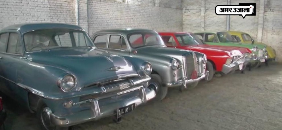 DEHRADUN DR S FAROOQ HAVE FLEET OF VINTAGE CAR DATE BACK TO 1926