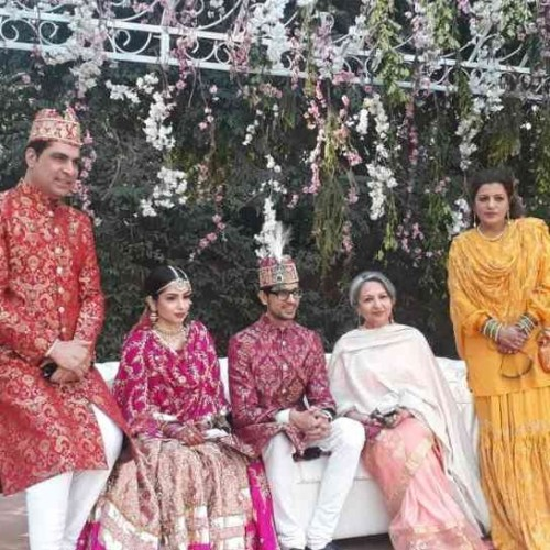 Pakistan foreign minister and many other VIP guest attend nawab rampur son wedding