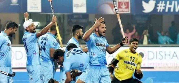 indian hockey team beat germany to grab bronze medal in hwl final
