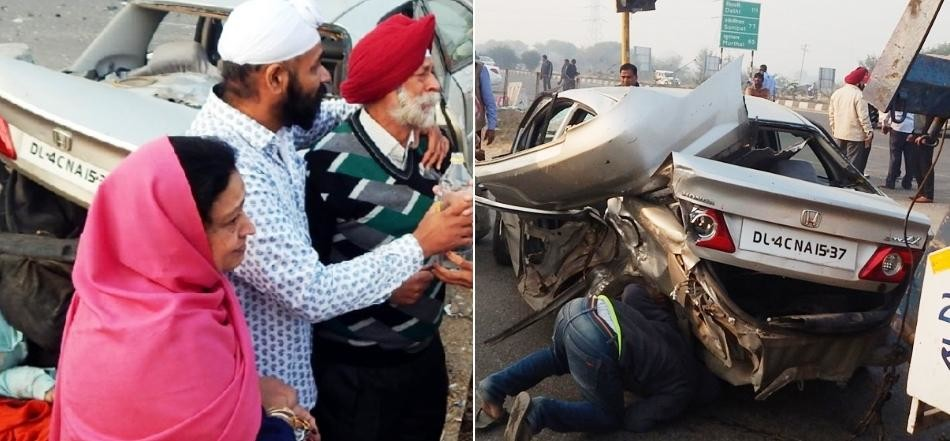 Three killed in accident in Karnal, Haryana