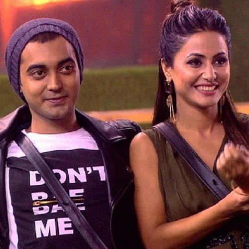 Image result for hina khan and luv tyagi