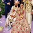 Anushka Sharma and Virat Kohli reception card photo revealed