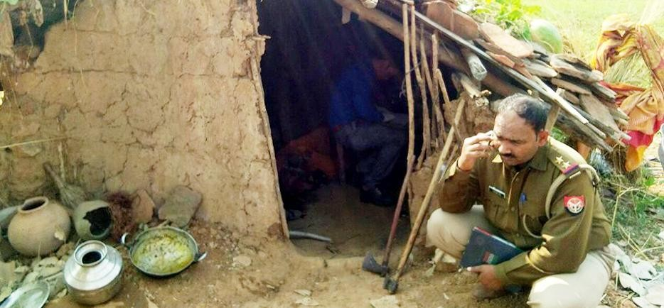 photos of Double Murder in Chitrakoot