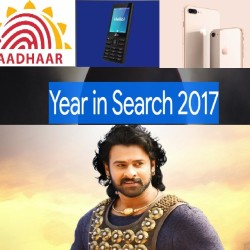 Google top search results in India, Aaddhaar, pan, jio phone and iphone 8