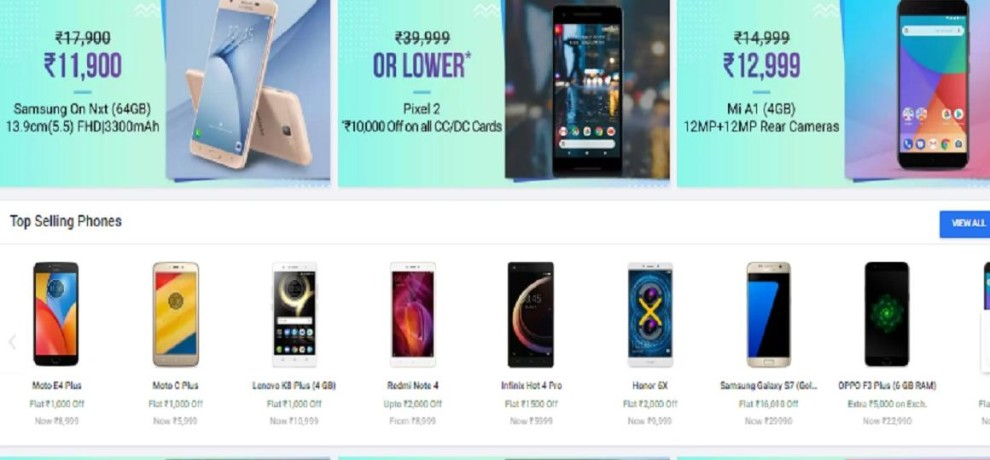 Flipkart New Pinch Days Sale, Deals on Xiaomi, Moto and LG Phones