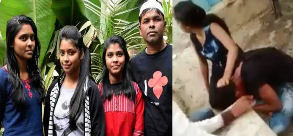 IN MIRZAPUR THREE GIRL SAVE FRENCH TOURIST WHEN GOON TRIED TO MOLEST FOREIGNERS