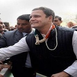 तस्वीरें: कांग्रेस अध्यक्ष बनने के बाद इस अंदाज में नजर आए राहुल, दी दमदार स्पीच
