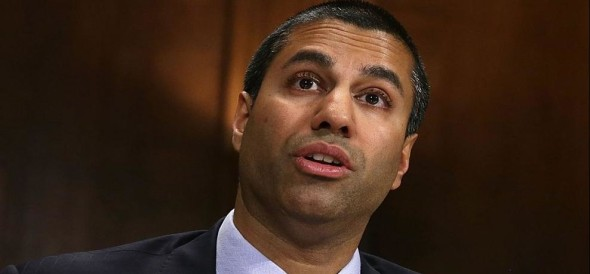 United States Federal Communications Commission Chairman Ajit Pai's vote killing Net neutrality law