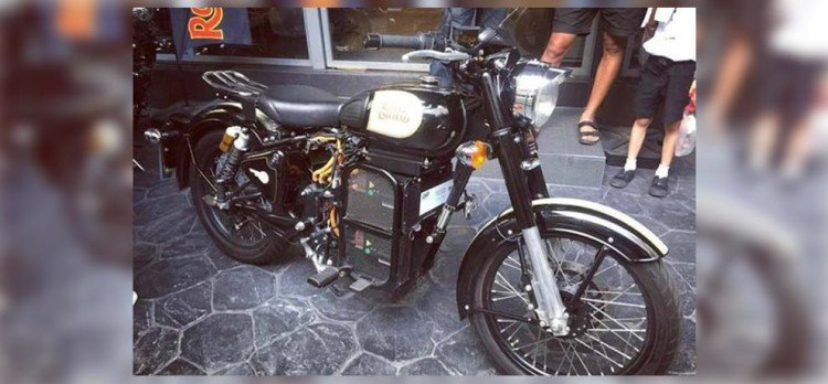 royal enfield electric bullet