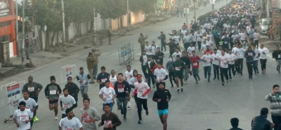 dehradun half marathon start for road safety