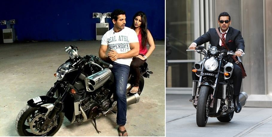 Bollywood Actor John Abraham bike collection with price:  Yamaha R1 to Suzuki Hayabusa